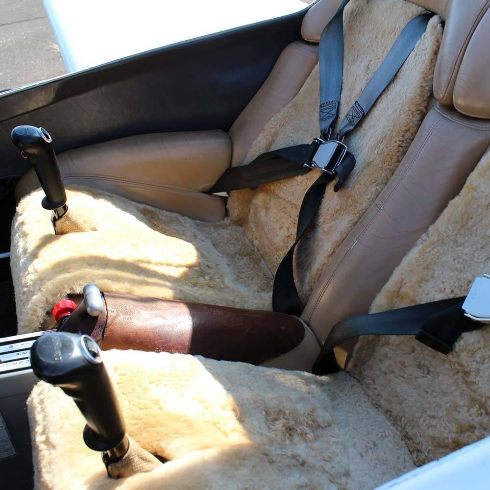 Aircraft Sheepskin Seat Inserts