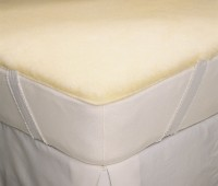 machine washable wool mattress pad