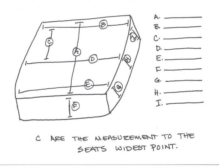 Wheelchair Seat Measurements