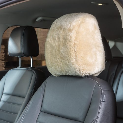 Sheepskin Headrest Covers