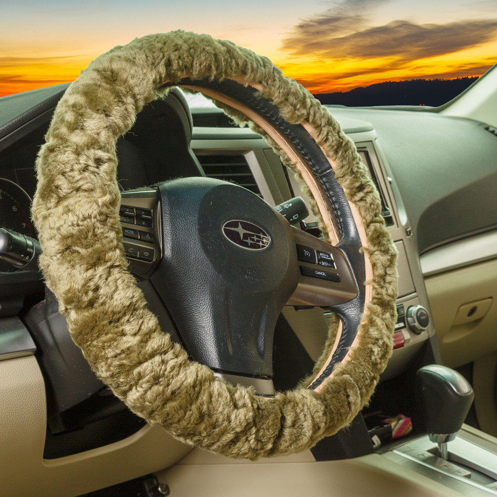 Sheepskin Steering Wheel Covers