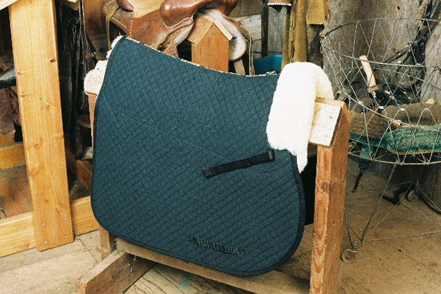 All Purpose Saddle Blanket with Pommel Roll