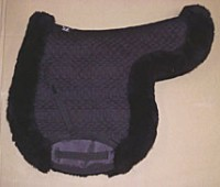 All Purpose Contoured Saddle Pad with Full Roll