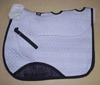 Full Quilted Saddle Pad Large