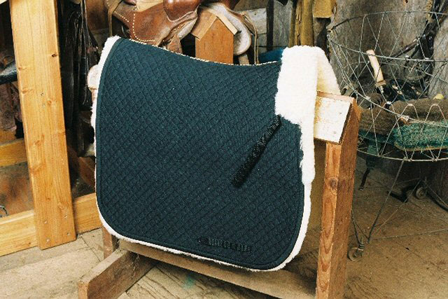 Dressage Saddle Blanket with Complete Lining
