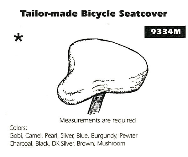 Sheepskin Bike Seat Cover