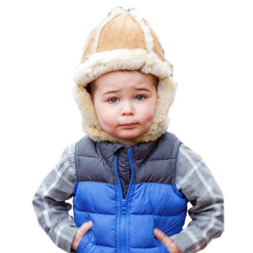bd0a074d9e6c4 Child s Sheepskin Aviator Fur Hat – Ultimate Sheepskin