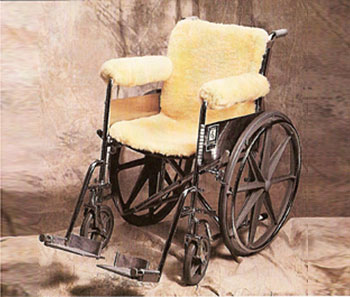 Sheepskin Wheel Chair Cover
