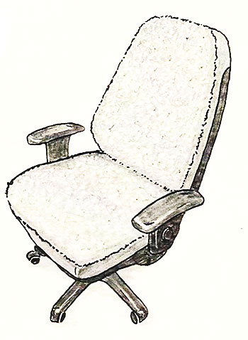Large Executive Office Chair Cover