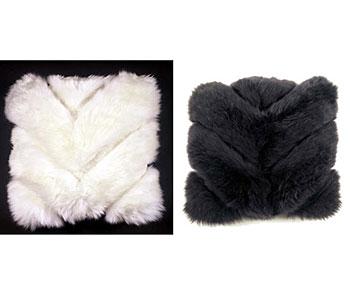 Chevron Sheepskin Pillows