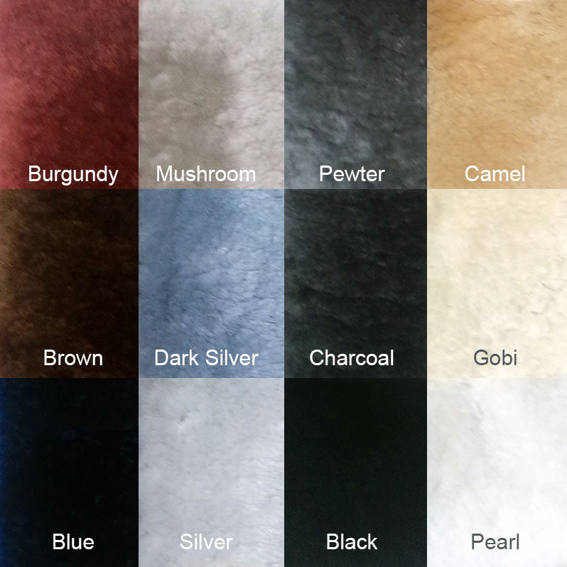 Short Wool Colors