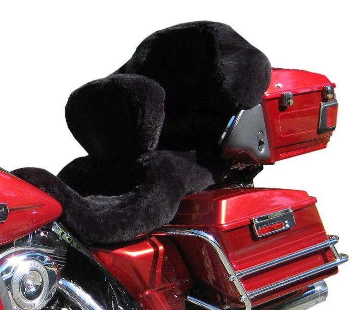 harley-sheepskin-motorcycle-seat-covers-black