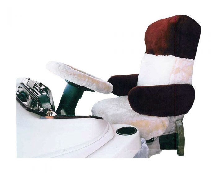 Sheepskin RV Seat Covers