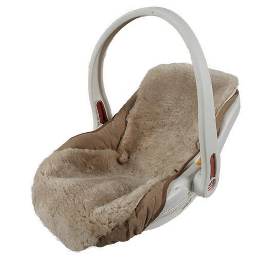 Baby Sheepskin Car Seat Cover