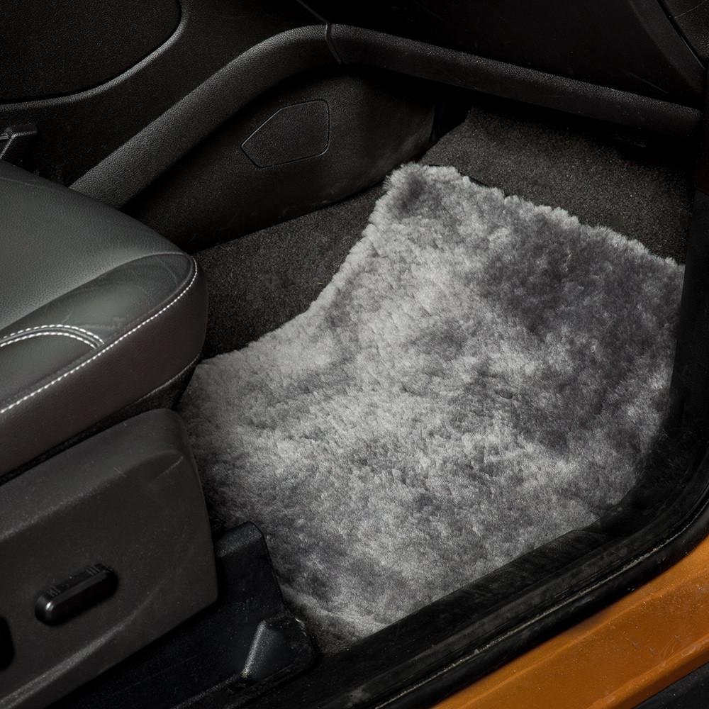 Tailor Made Luxury Automotive Sheepskin Floor Mats