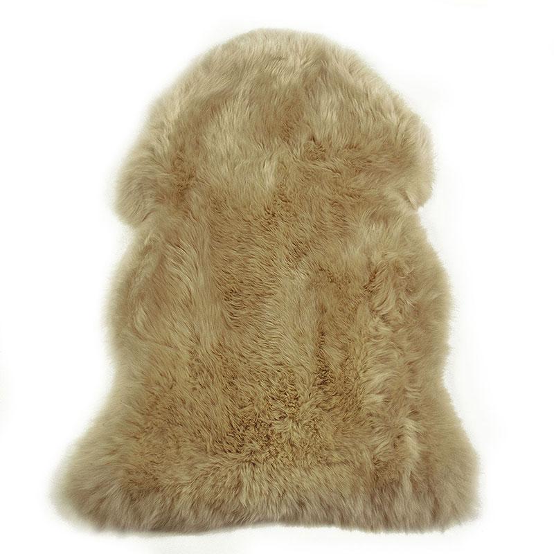 sheepskin-tan rug