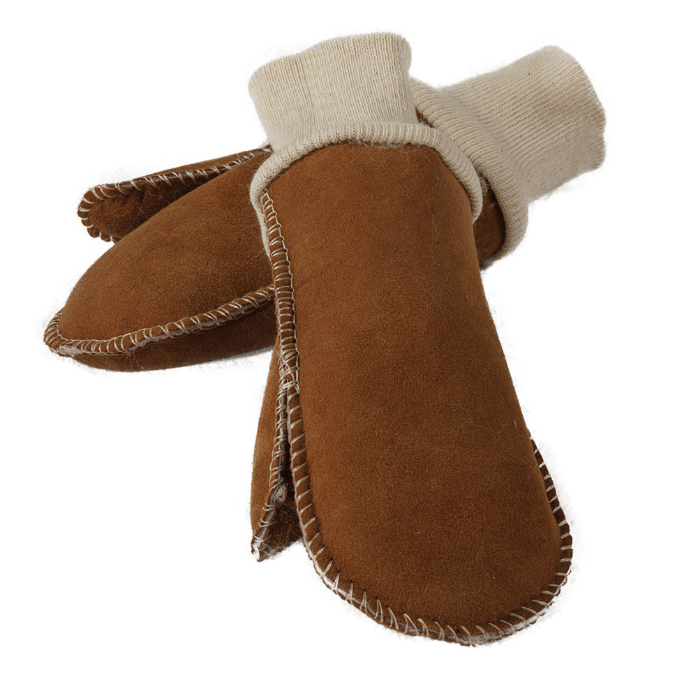 how to clean sheepskin mittens
