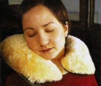 Sheepskin Adult Travel Pillow