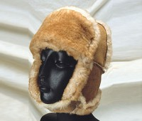Sheepskin Mounty Hat