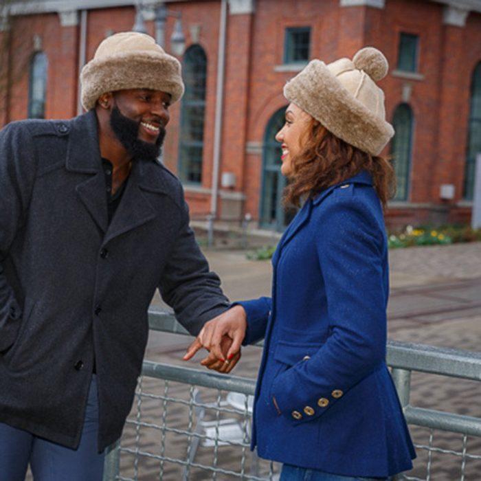 English Sheepskin Fur Hat & Elaine Sheepskin Hat