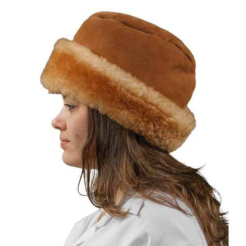 English Sheepskin Fur Hat