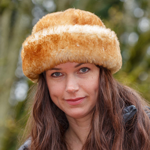 Stony Sheepskin Jackie Fur Hat