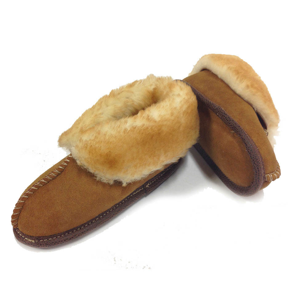 Premium Soft Sole Sheepskin Slippers