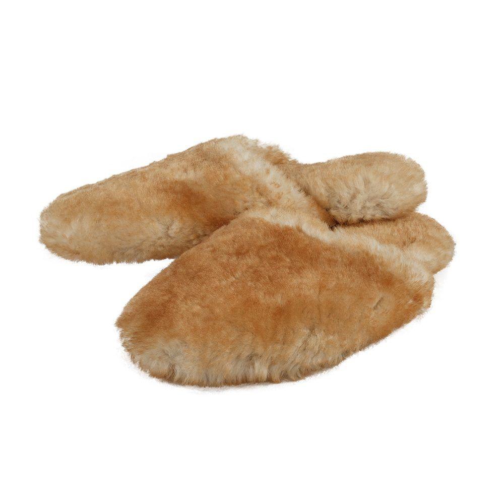430ddc2415f Sheepskin Slippers Scuff Softsole Slipper for Men or Women