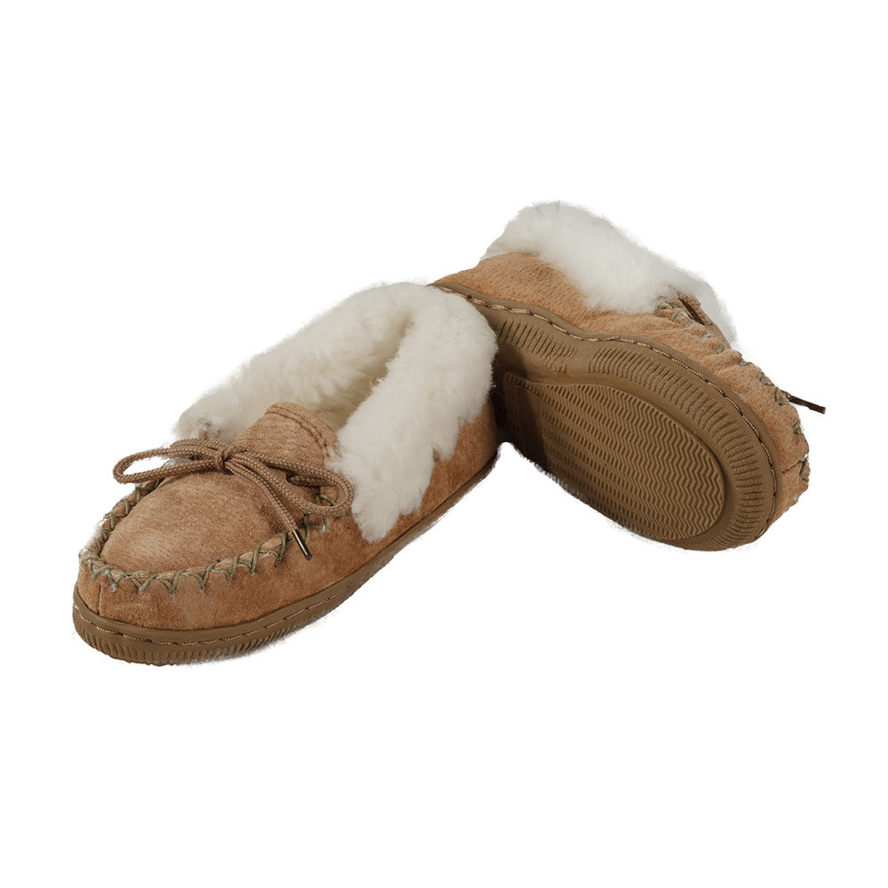 Roll Cuff Moccasin Slipper