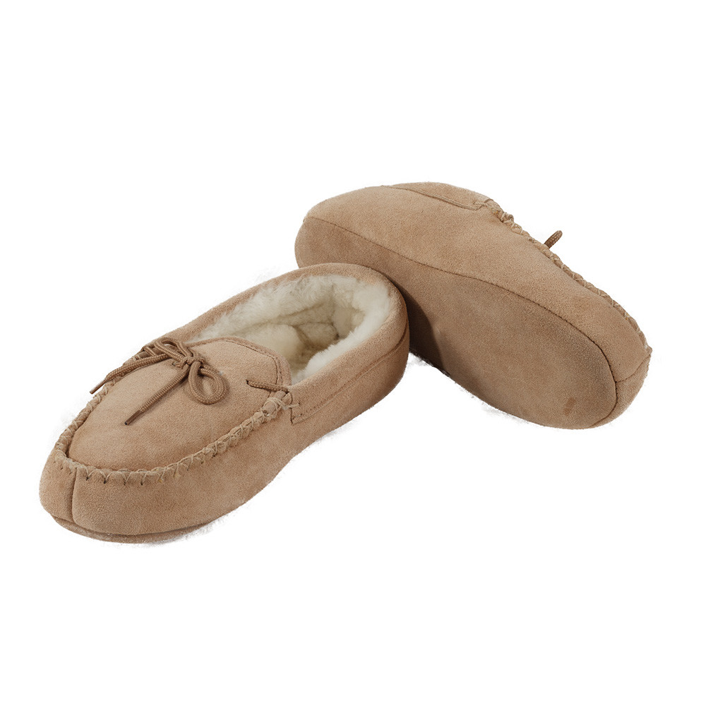 544044d0fc8 Sheepskin Moccasin Slippers for Men or Women – Ultimate Sheepskin