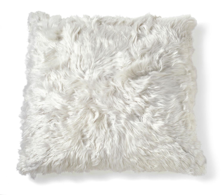FIBRE By AUSKIN Alpaca Pillows Undyed Ivory 20″ Square