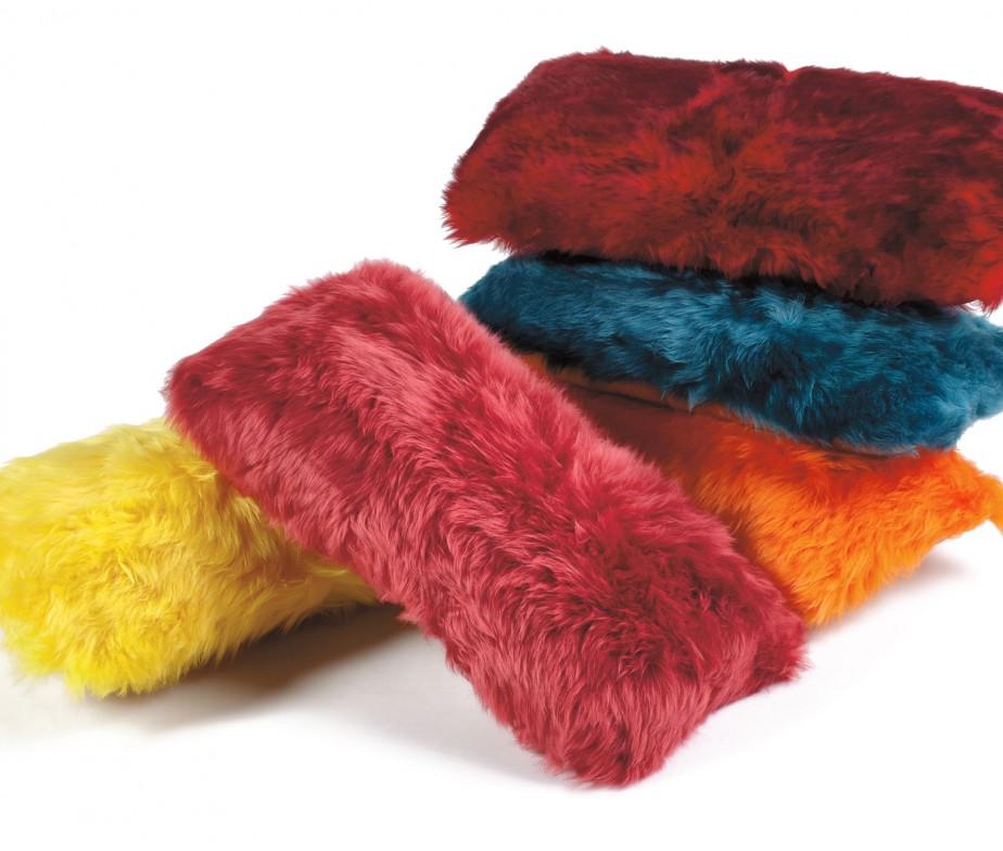 Sheepskin Pillows 11 X 22 Fur Cushions Ivory Ultimate