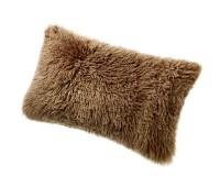 Sheepskin Pillow Brown