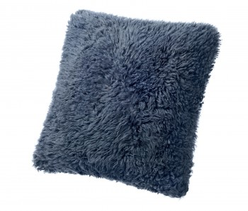 Sheepskin Pillows Naturally Curly Long Wool 22 Square