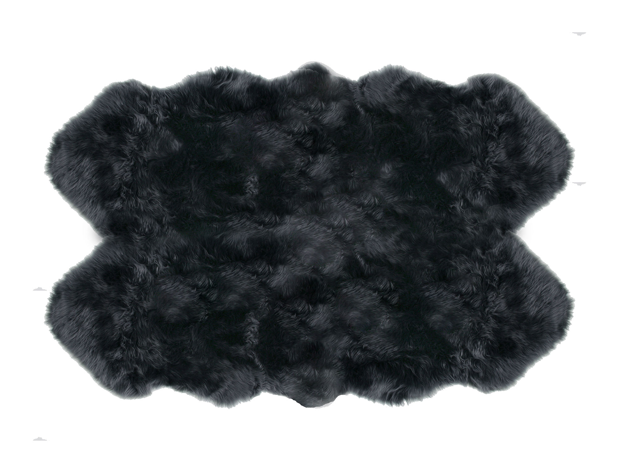 Premium Sheepskin 4 Pelt Large Fur Rugs