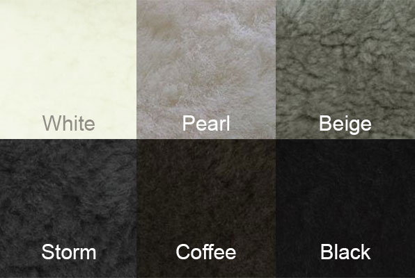 Auskin Shearling Colors
