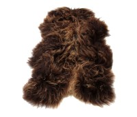 Icelandic Sheepskin Rug Brown