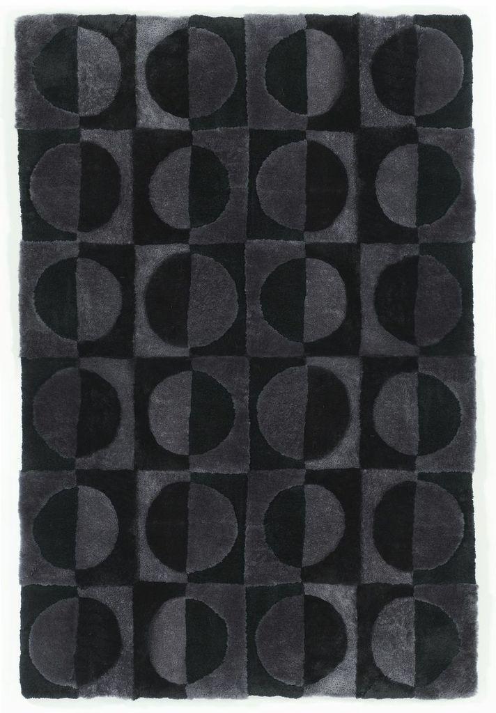 Sheepskin Designer Rug Circles