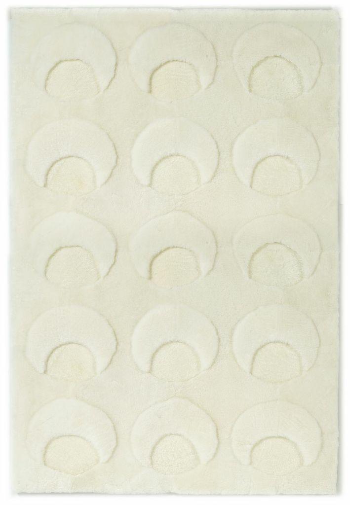 Sheepskin Designer Rug Crescents