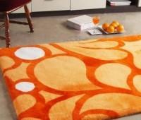 Shearling Designer Rug Mango