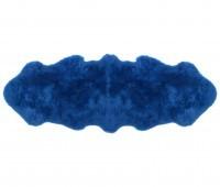 Blue Double Pelt Sheepskin Rug