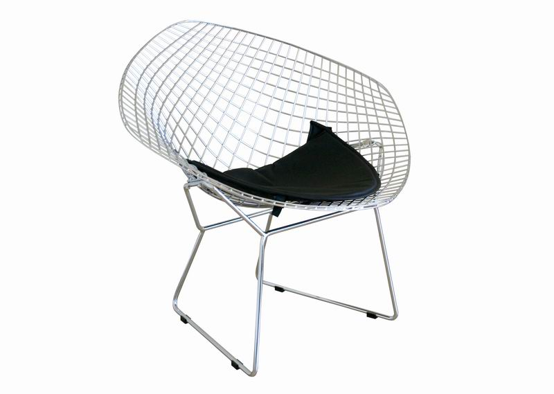Bertoia Style Diamond Chair