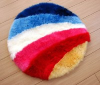 Sheepskin Rainbow Rug
