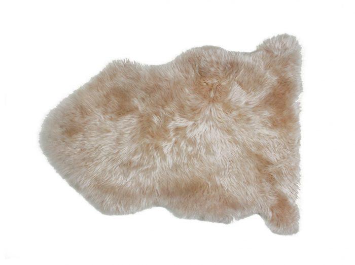 Dark Linen Auskin Single Pelt Sheepskin Rug