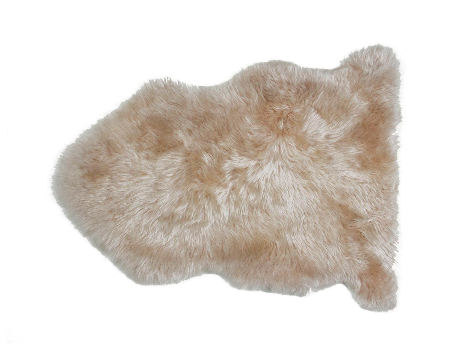 Brown Sheepskin Rug Carpet Vidalondon
