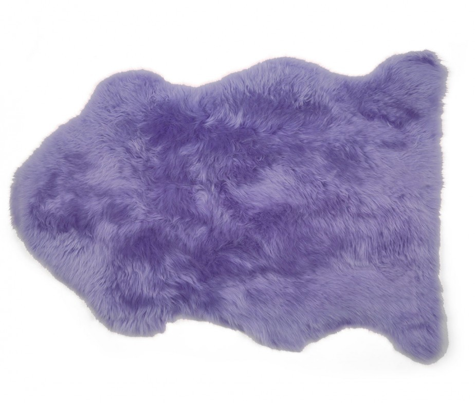 Sheepskin Rug Premium Auskin Fuchsia Light Purple