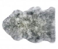 Gray Mist Sheepskin Rug