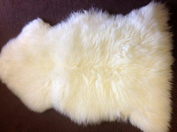Ivory Sheepskin Rug