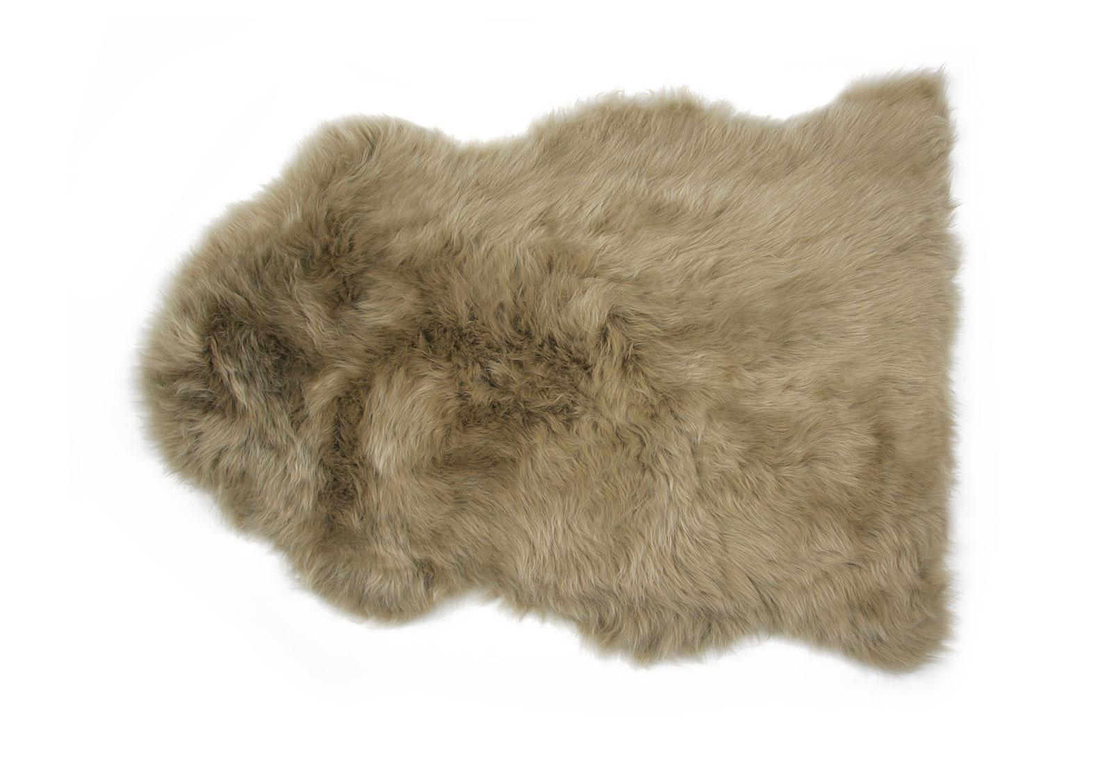Khaki Sheepskin Rug