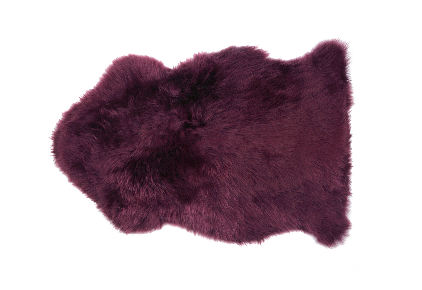 Orchid Purple Sheepskin Rug